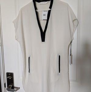 Astars white shift dress